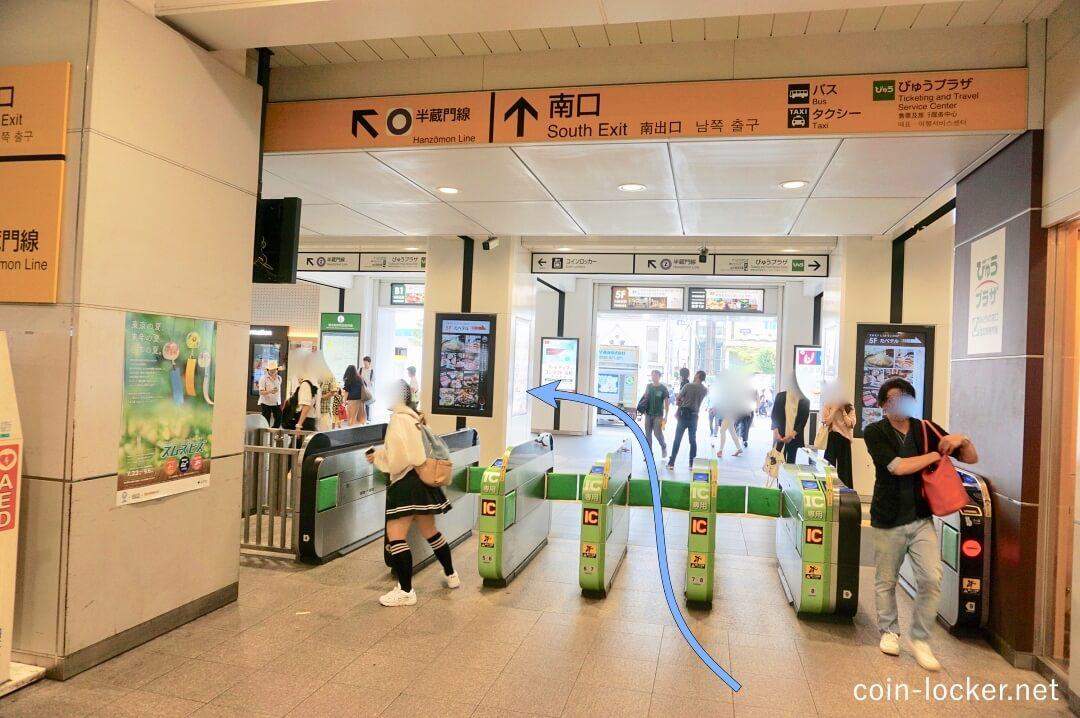 錦糸 町 駅 構内 図
